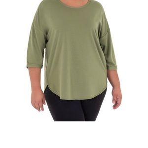 Terra & Sky French Terry Tunic style